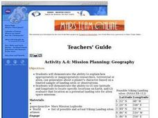 Mission Planning: Geography Lesson Plan