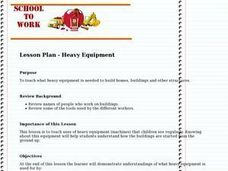 Heavy Equipment Lesson Plan