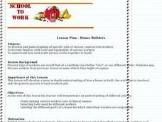 House Builders Lesson Plan