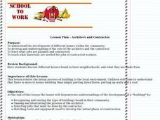 Architect and Contractor Lesson Plan
