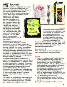 Art Journal Lesson Plan