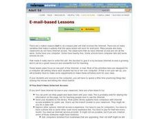E-mail-based Lessons Lesson Plan