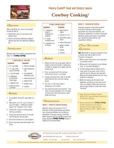 Cowboy Cooking Lesson Plan