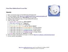 Moon Phase Bulletin Board Lesson Plan Lesson Plan