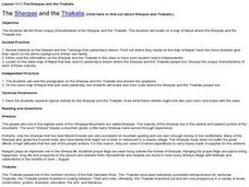 The Sherpas and the Thakalis Lesson Plan