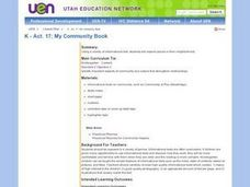 My Community Book Lesson Plan