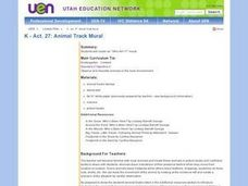 Animal Track Mural Lesson Plan