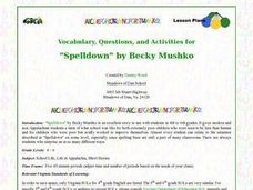 """Spelldown"" by Becky Mushko Lesson Plan"