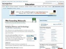 Bridging History and Technology Lesson Plan
