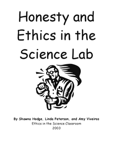 Honesty and Ethics in the Science Lab Lesson Plan