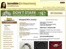 Wire Wrapped Jewelry Lesson Plan
