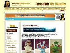 Hollow Form - Monsters - Beasties That Never Were Lesson Plan