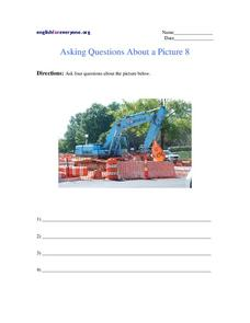 Asking Questions About a Picture 8 Worksheet