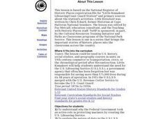 Little Kinnakeet Lifesaving/Coast Guard Station Lesson Plan