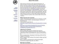 Liberty Ships Lesson Plan