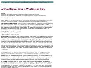 Archaeological Sites in Washington State Lesson Plan
