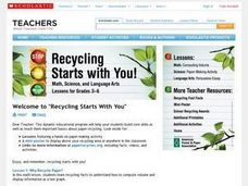 Recycling Starts With You! Lesson Plan