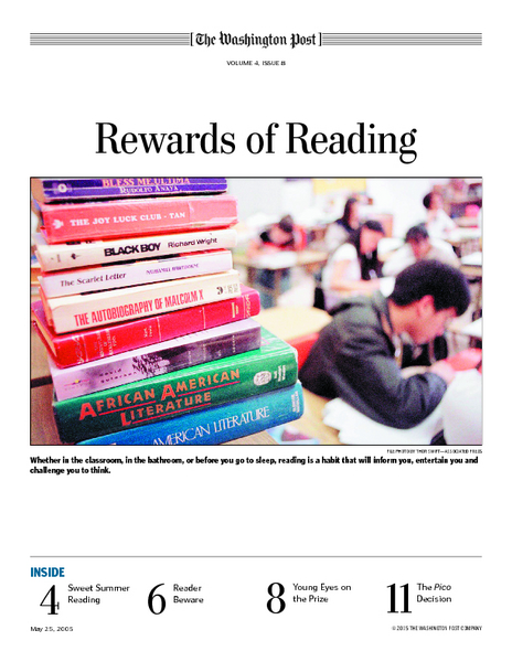Rewards of Reading Lesson Plan