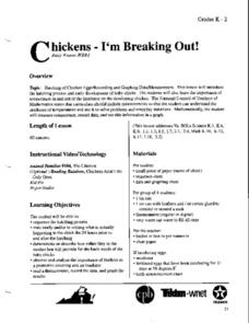 Chickens:  I'm Breaking Out! Lesson Plan
