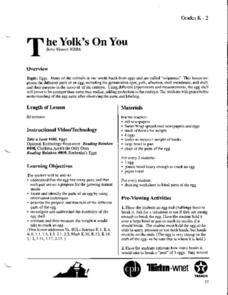 The Yolk's On You! Lesson Plan