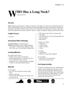 Who Has a Long Neck? Lesson Plan