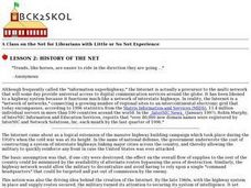 History of the Net Lesson Plan
