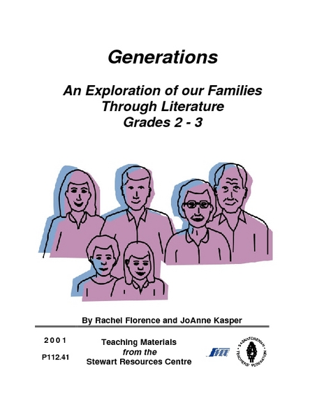 Generations:  An Exploration of our Families Through Literature Lesson Plan