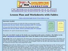 Fables Lesson Plan