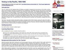 Victory in the Pacific, 1943-1945 Lesson Plan