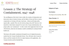 The Formation of the Western Alliance, 1948-1949 Lesson Plan