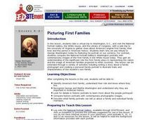Picturing First Families Lesson Plan