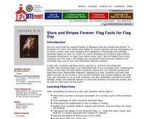 Stars and Stripes Forever: Flag Facts for Flag Day Lesson Plan