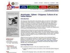Anishinabe - Ojibwe - Chippewa: Culture of an Indian Nation Lesson Plan