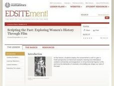 Scripting the Past: Exploring Women's History Through Film Lesson Plan