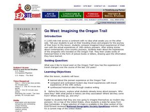 Go West: Imagining the Oregon Trail Lesson Plan