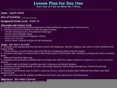 Bless Me, Ultima - 1 Lesson Plan