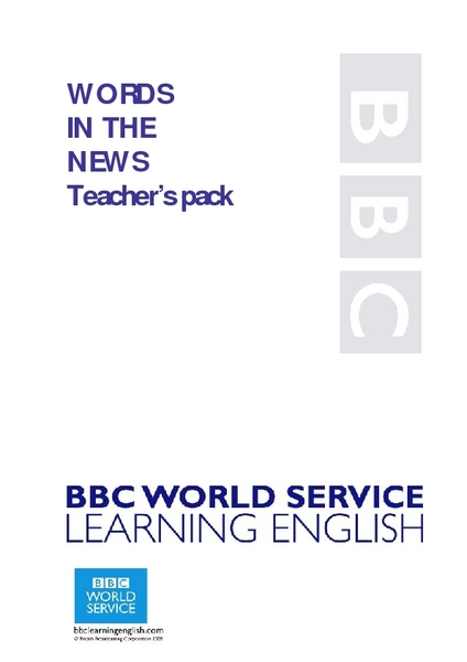 Words in the News: Carol Thatcher Wins TV Show Lesson Plan