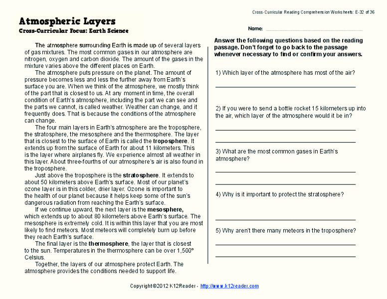 Layers Of The Earth Lesson Plans Worksheets Lesson Planet