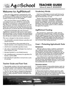 Protecting Agriculture's Tools Lesson Plan