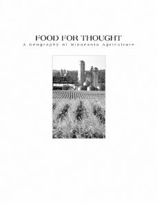 Food For Thought: A Geography of Minnesota Agriculture Lesson Plan