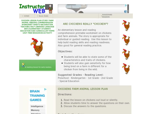 Are Chickens Really
