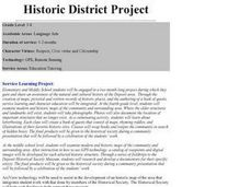 Historic District Project Lesson Plan