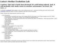 Luisa's Steller Evolution Lab Lesson Plan