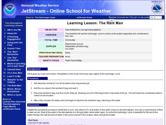 Learning Lesson: The Rain Man Lesson Plan