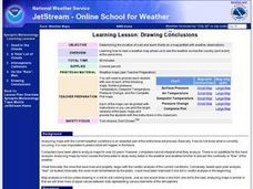 Learning Lesson: Analyzing a Weather Map Lesson Plan