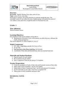 Bad Wolf/Good Wolf Lesson Plan