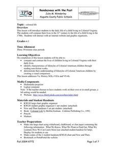 Rendezvous With The Past Lesson Plan