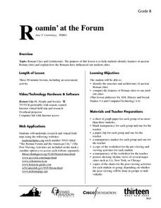 Roamin' at the Forum Lesson Plan