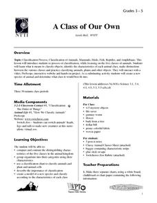 A Class of Our Own Lesson Plan