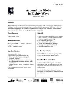 Around The Globe in Eighty Ways Lesson Plan